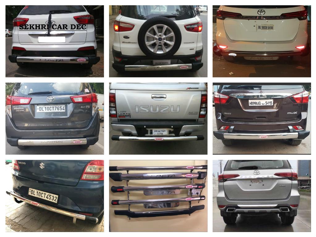 Toyota Innova Crysta Rear Guards Innova Crysta Rear